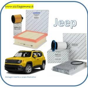 tagliando jeep renegade 2016 filtri aria olio carburante